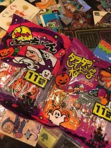 ハロウィン 駄菓子